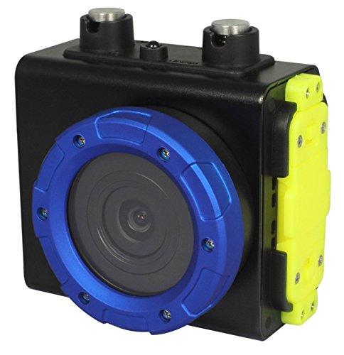 Waterproof Use Single Camera (Powpro Underwater Camera, Pcam PP-SV502 WiFi Waterproof Camera with 120 Degree Angle Diving 10M Camera)
