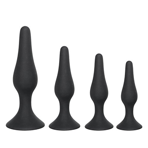 Black Butt Plug for Beginner Erotic Toys Silicone Anal Plug Adult Products Anal Sex Toys for Men Women Prostate Massager by Twinkle UU Sex Shop