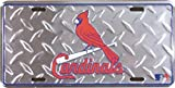 St Louis Cardinals MLB Embossed Diamond Metal Novelty License Plate Tag Sign 2641