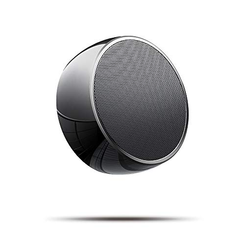 Portable Bluetooth Speakers,Mini Wireless Bluetooth Speaker for Outdoors with Bass and Loud HD Stereo Sound,Built-in Mic,Car Handsfree Call, AUX and TF Card for iPhone,iPad,Tablet,Laptop,Black