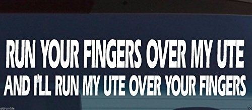 Ute Canopy Tray Toolbox 4X4 Funny Decal Sticker