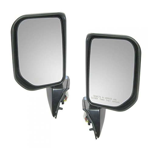 Power Turn Signal Side View Mirrors Left & Right Pair Set for 07-10 FJ Cruiser
