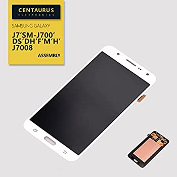 Assembly For Samsung Galaxy J7 J700 J700H J700M J700DS J700F J700T J700P Touch Screen Digitizer LCD Display Full Replacement White