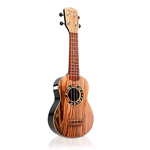 SAOCOOL 17-inch Kids Ukulele Guitar Toy 4 String Mini Guitar Children's Musical Toy, The Best Gift for Children who Love Music