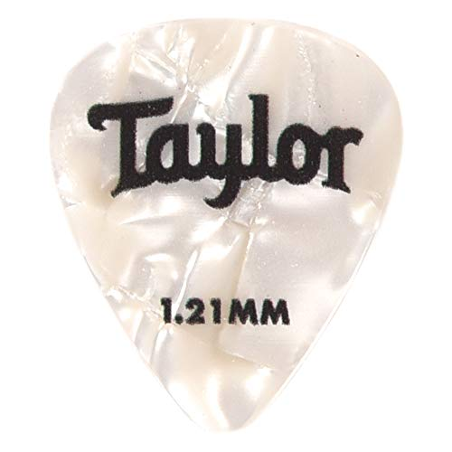 - Taylor Celluloid 351 Picks White Pearl 1.21mm 12-Pack