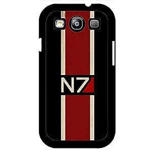 Custom Design Logo Mass Effect N7 Phone Case Cover for Samsung Galaxy S3 I9300 Mass Effect N7 Hot Game