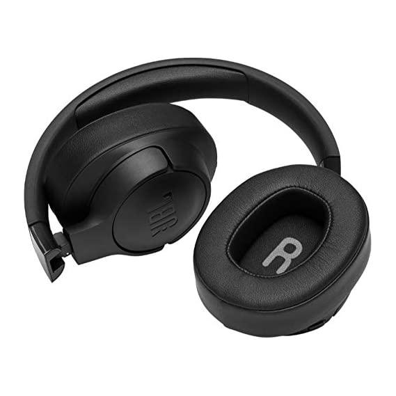 JBL Tune 700BT Over-Ear Wireless Headphones with 27-Hour Playtime, Multi-Point Connection & Quick Charging (Black) (JBLT700BTBLK)