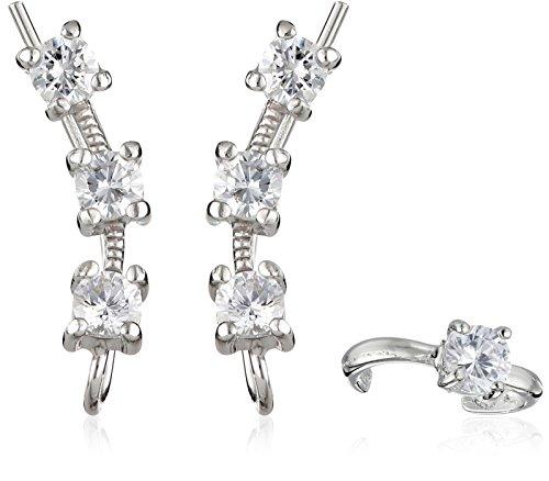 Ear Pin Zirconias Earcuff Earrings product image
