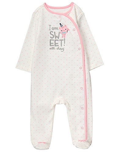 Gymboree Baby Girls Sleeper, Sweet Polka Pink, 3-6 Mo