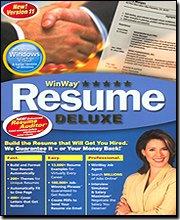 Win Way Resume Deluxe 11