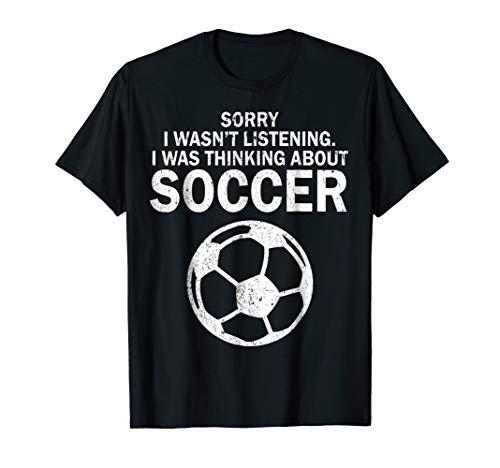 (Cool Soccer Tshirt Football Pun Sarcastic Humor Funny Gift )