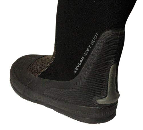 Waterproof Replacement Dryboot for The D1, D7, D10 Drysuits, Size 28 (9.5-10.5) ()