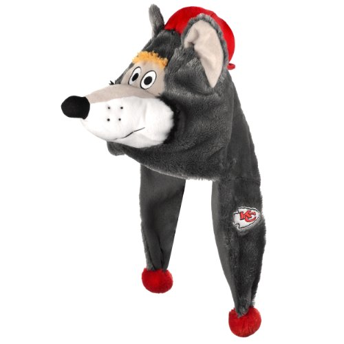 Kansas City Chiefs Thematic Mascot Dangle Hat – Football Theme Hats 8f7a2b773296