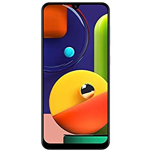 Samsung Galaxy A50s (Prism Crush White, 4GB RAM, 128GB Storage)