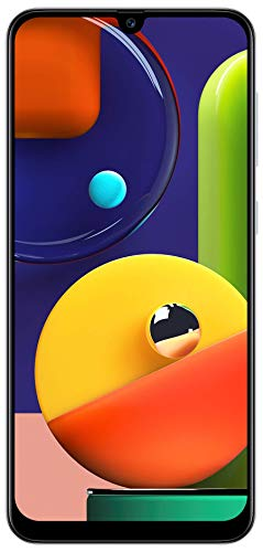 Samsung Galaxy A50s (Prism Crush White, 4GB RAM, 128GB Storage)