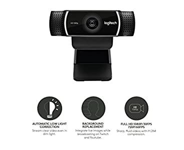Logitech C922 Pro Stream Full HD Webcam : Highly recommended but does have  an issue