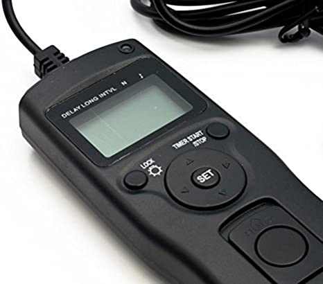 QUMOX Lapso de Tiempo Intervalómetro Shutter Timer Distancia para Nikon D90 D5000 D5100 D5200 D3100 D3200 D7000