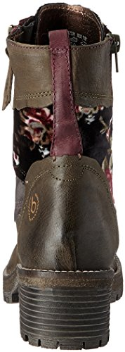 Bugatti 421323313030, Stivali Donna Verde (Dark Green/ Multicolour)