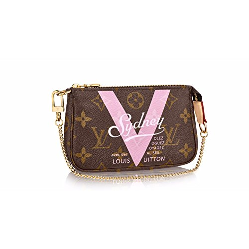 Authentic Louis Vuitton Mini Pochette Accessoires Sydney Shoulder Handbag Article: M51923 Made in - Authentic Louis Pochette Vuitton