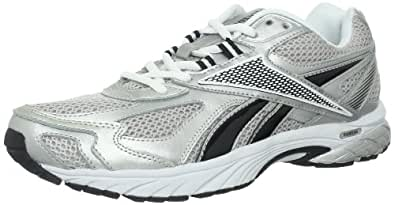 Reebok Men's Pheehan Running Shoe,Silver/Black/White,6.5 M US