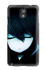 New ArrivalHTC One M8 Black Dark Black Rock Shootertwintails Hoodies Closed Pale Skin Bangs Case Cover