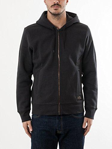 Levis Skateboarding Jet Black Basic Zip Hoody at Amazon Mens Clothing store: