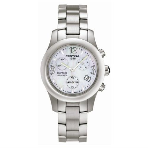 Certina Women's DS Prime 34mm Steel Bracelet & Case Sapphire Crystal Quartz MOP Dial Watch C538.7133.42.97