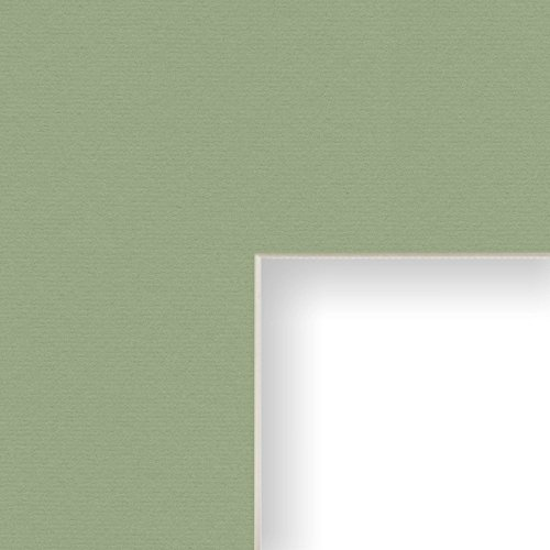 Craig Frames B522 18x24-Inch Mat, Single Opening for 12x18-Inch Image, Palm with Cream -