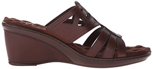 Logan Wedge Walking Tobacco Sandal Cradles Women's TTrtxEwq7H