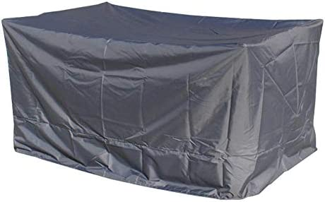 ガーデン屋外用 ガーデンラタン家具カバー 屋外用家具のためのカバー テーブルチェア 防塵、  防水 3色 カスタマイズ可能な10サイズ シバオ (Color : Grey, Size : 125x125x70cm)