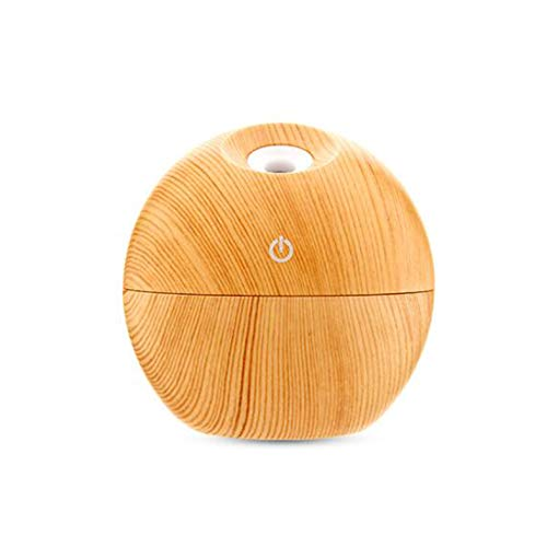 Balón de madera con USB, equipo hidratante, sin ruido, 6 colores ...