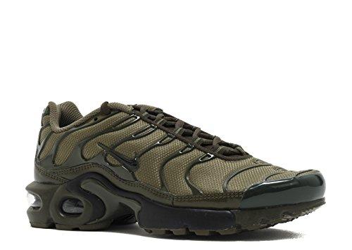 Nike Air Max Plus Tn (gs) Jeugd Sneaker Medium Olive, Black-dark Loden