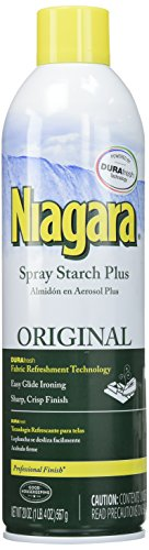 Iron Spray - Niagara Original Spray Starch Plus Durafresh Professional Finish, 20 Oz (2 Pack)