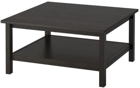 Amazon Com Ikea Black Brown Coffee Table 1824 23208 3418 Kitchen