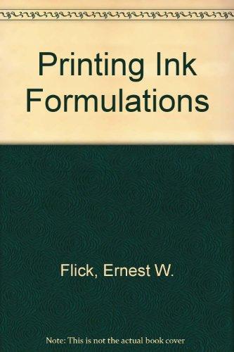 Printing Ink Formulations