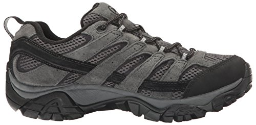 Merrell Mens Moab 2 Waterproof Hiking Shoe Granite