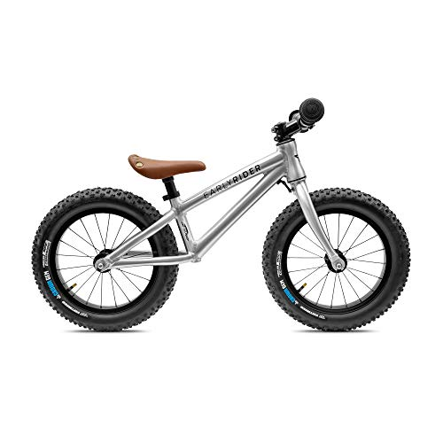 WeeBikeShop Early Rider Trail Runner XL Fat Tire Balance Bike with Crown Gem Tires Edition