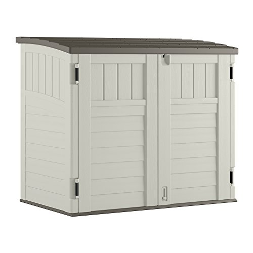 outdoor garbage can storage - 1