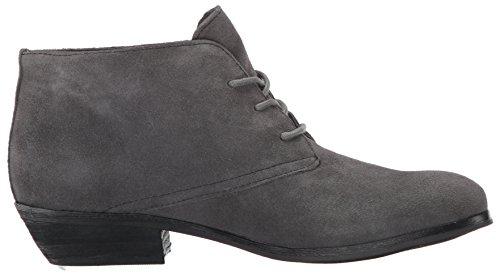 Suede Zeh Dark Fashion Leder Frauen Stiefel Grey Geschlossener ZTq4FZp6w