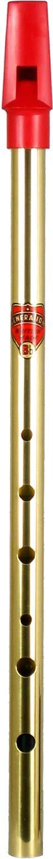 Generation BBF - Flauta tin whistle de latón (si bemol): Amazon.es: Instrumentos musicales