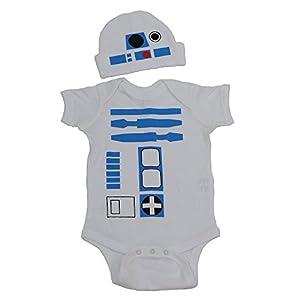 R2D2 Baby Graphic Bodysuit Set