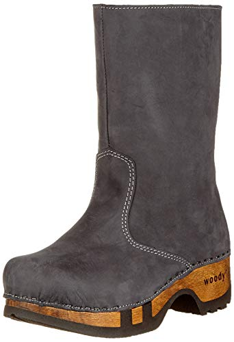 Femme Rose Grigio Woody Gris Bottines 051 7apnxT