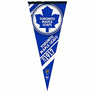 NHL Toronto Maple Leafs 17-by-40 Inch Premium Quality Pennant