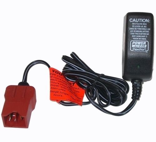 Price comparison product image Power Wheels P5063 Firerock Jeep Wrangler Replacement 6 Volt Battery Charger