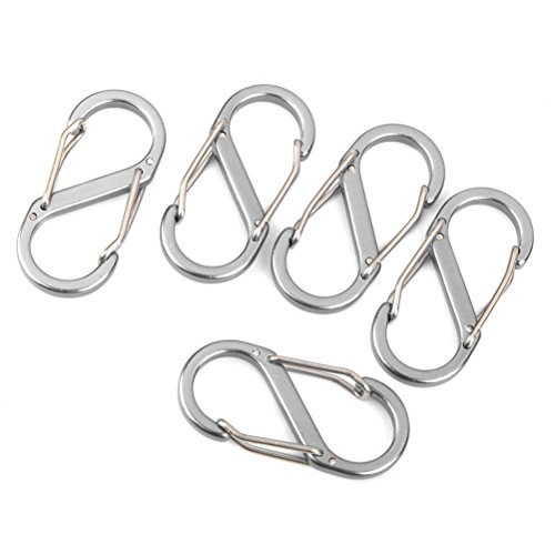 Tinksky Outdoor Carabiner Keychain Equipment