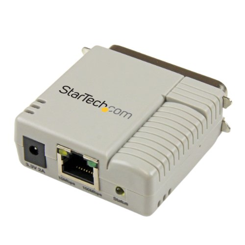 1 Port 10/100 Mbps Ethernet Parallel Network Print Server - Parallel Print Server - Centronics Parallel Port Print ()
