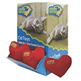 Cos Dsp Catnip Heart Bin 36pc