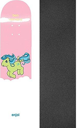 筋肉の可愛い感度Enjoi Skateboards Ben Raemers My Little Ponyスケートボードデッキresin-7 – 8.125 X 31.7 CMでJessup Griptape – 2アイテムのバンドル
