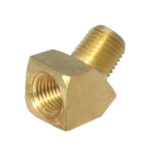 JMF 1/4 in. Dia. x 1/4 in. Dia. FPT To FPT To Compression 45 deg. Yellow Brass Street Elbow (4505673) Dia 45 Deg Elbow