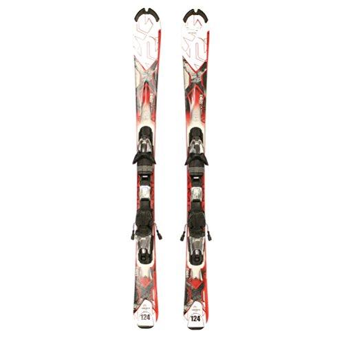 (Used K2 AMP Strike Skis Salomon L10 Bindings Nice A Condition Starter Set Sale - 136cm/Marker Mz)